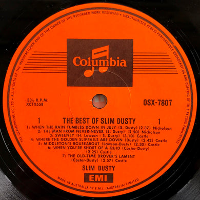 Slim Dusty - The Best Of Slim Dusty
