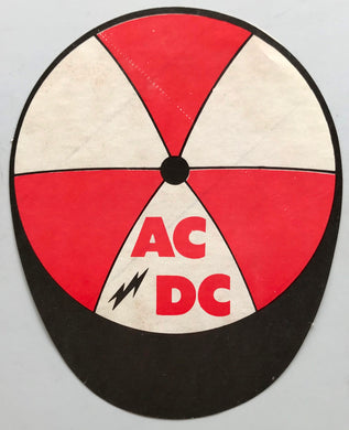 AC/DC - Cap Shaped Sticker