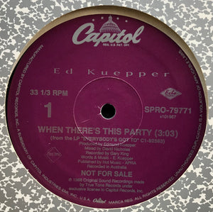 Ed Kuepper - When There's This Party