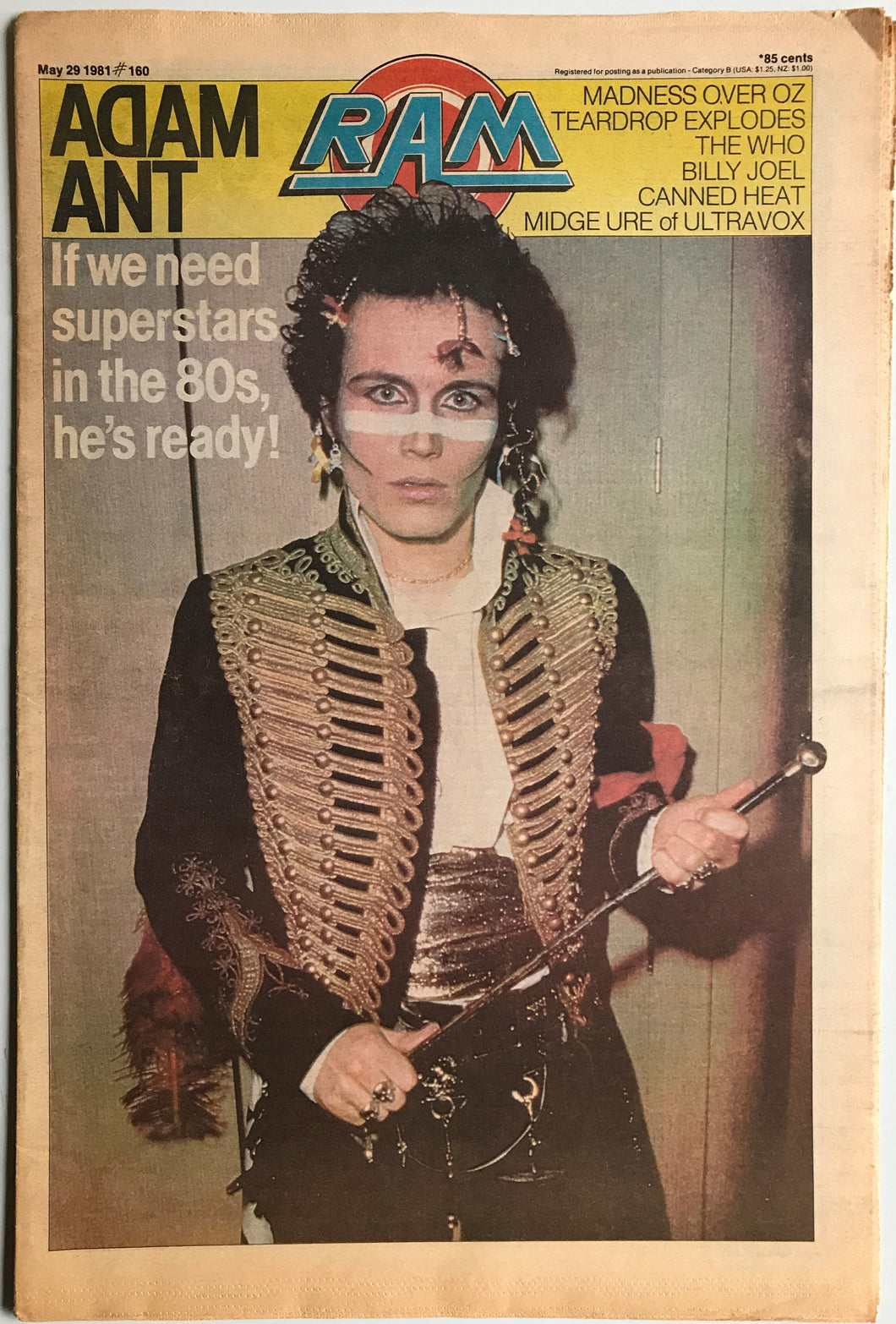 Adam & The Ants - Ram No.160