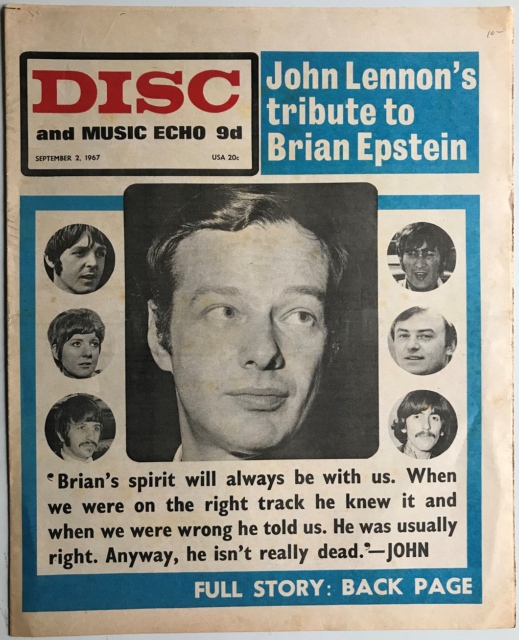 Beatles - Disc And Music Echo