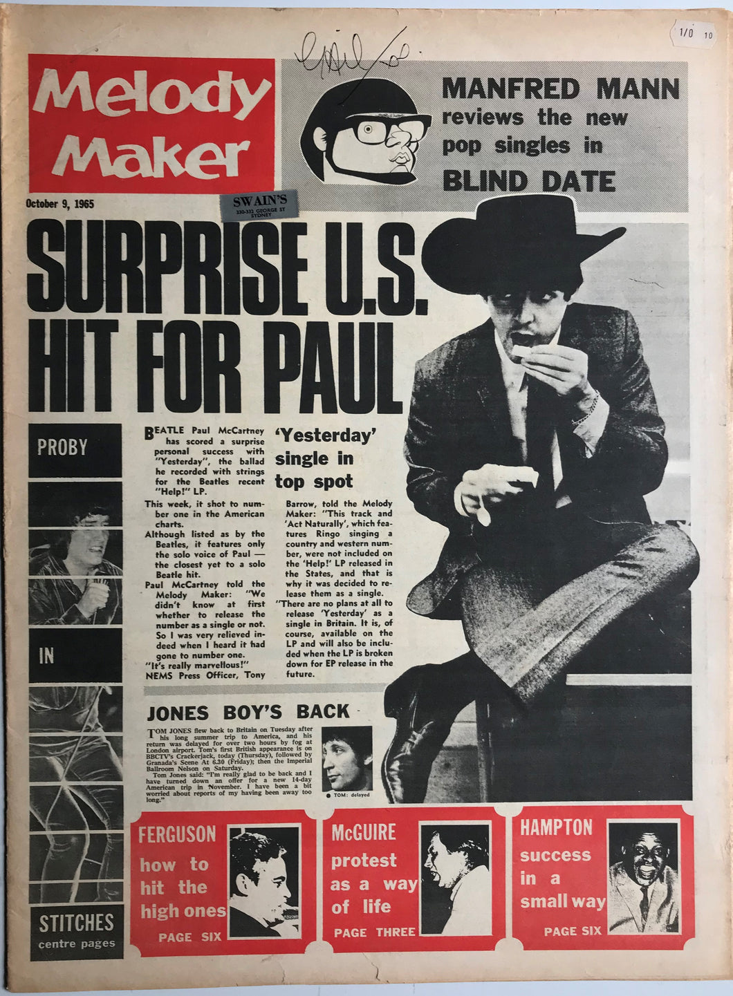 Beatles - Melody Maker