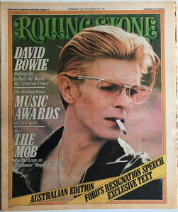 David Bowie - Rolling Stone No. 206