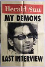 Load image into Gallery viewer, Inxs (Michael Hutchence) - Herald Sun
