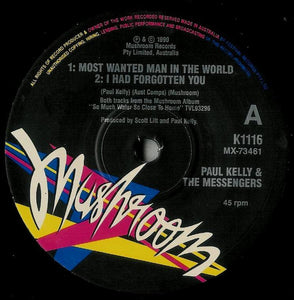 Kelly, Paul (& The Messengers) - Most Wanted Man In The World
