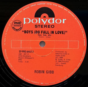 "Bee Gees (Robin Gibb) - BEE GEES (ROBIN GIBB) - ""Boys (Do Fall In Love)"""