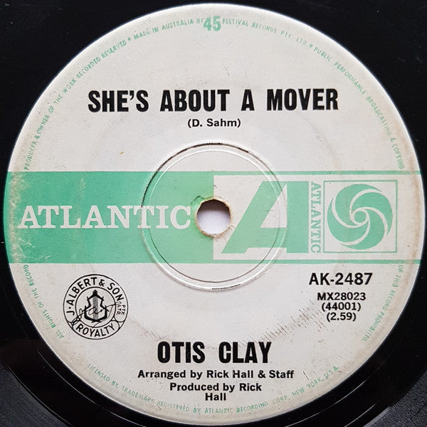 Clay, Otis - She's About A Mover