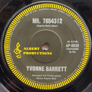Yvonne Barrett - No Longer Part Of Your Life