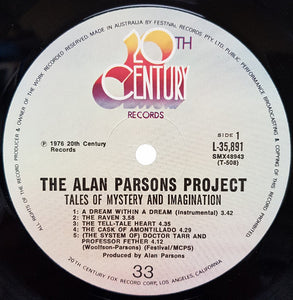 Alan Parsons Project - Tales Of Mystery And Imagination