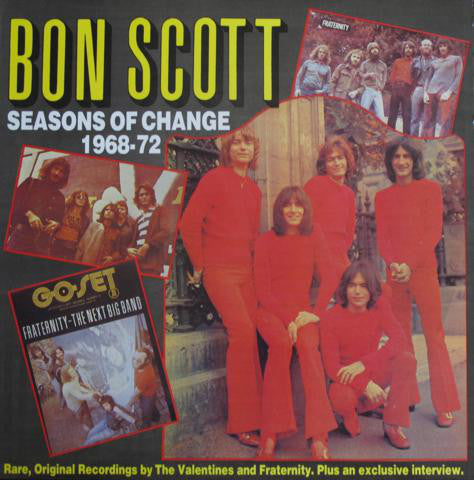 AC/DC - Bon Scott - Seasons Of Change 1968-72