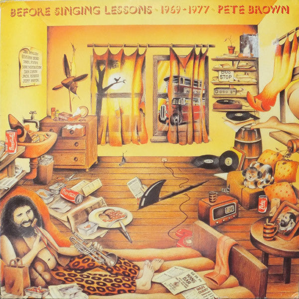 Pete Brown & Piblokto - Before Singing Lessons 1969-1977
