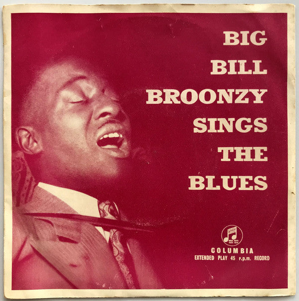 Big Bill Broonzy - Big Bill Broonzy Sings The Blues