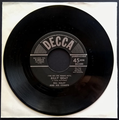 Bill Haley & His Comets - (You Hit The Wrong Note) Billy Goat