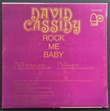 Load image into Gallery viewer, Cassidy, David - Rock Me Baby