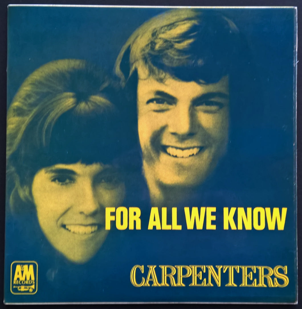 Carpenters - For All We Know
