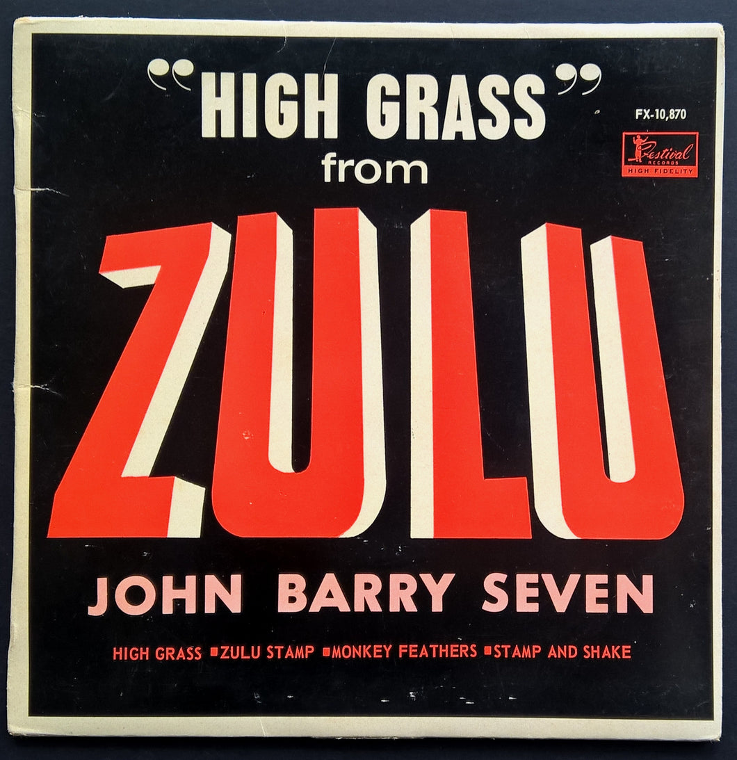John Barry - High Grass From