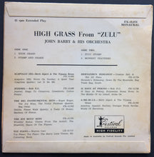 "Load image into Gallery viewer, John Barry - High Grass From ""Zulu"""