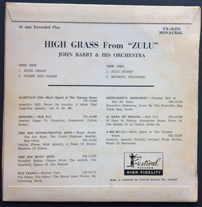 "John Barry - High Grass From ""Zulu"""