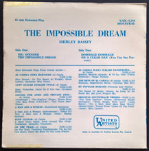 Load image into Gallery viewer, Shirley Bassey - The Impossible Dream