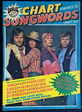 ABBA - Chart Songwords
