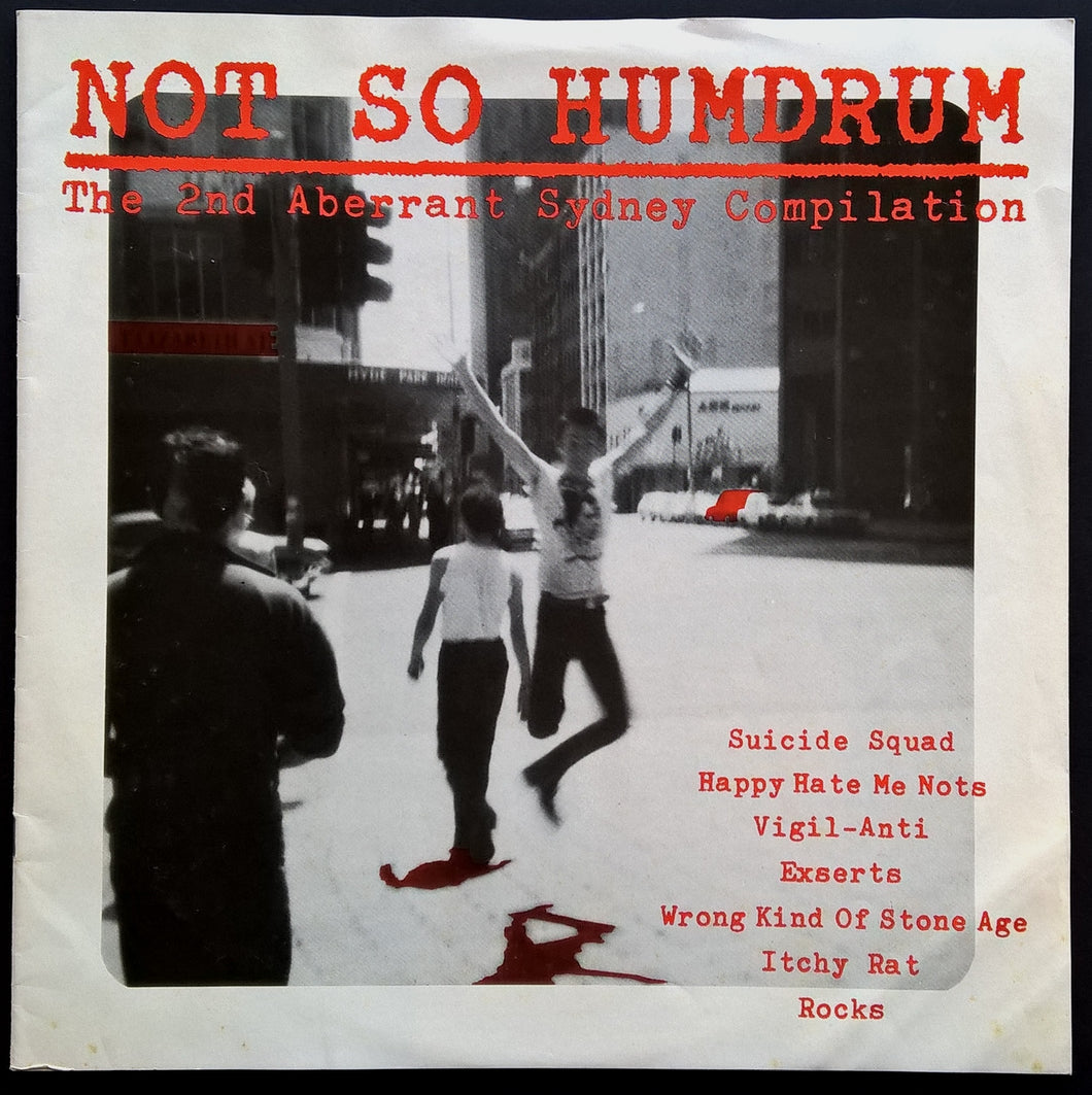 Not So Humdrum The 2nd Aberrant Sydney Compilation