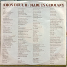Load image into Gallery viewer, Amon Duul 2 - Made In Germany