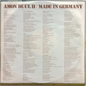 Amon Duul 2 - Made In Germany