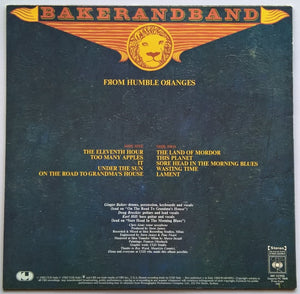 Baker, Ginger (Baker And Band) - From Humble Oranges