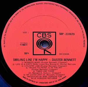 Bennett, Duster - Smiling Like I'm Happy