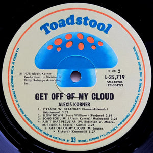 Alexis Korner - Get Off Of My Cloud