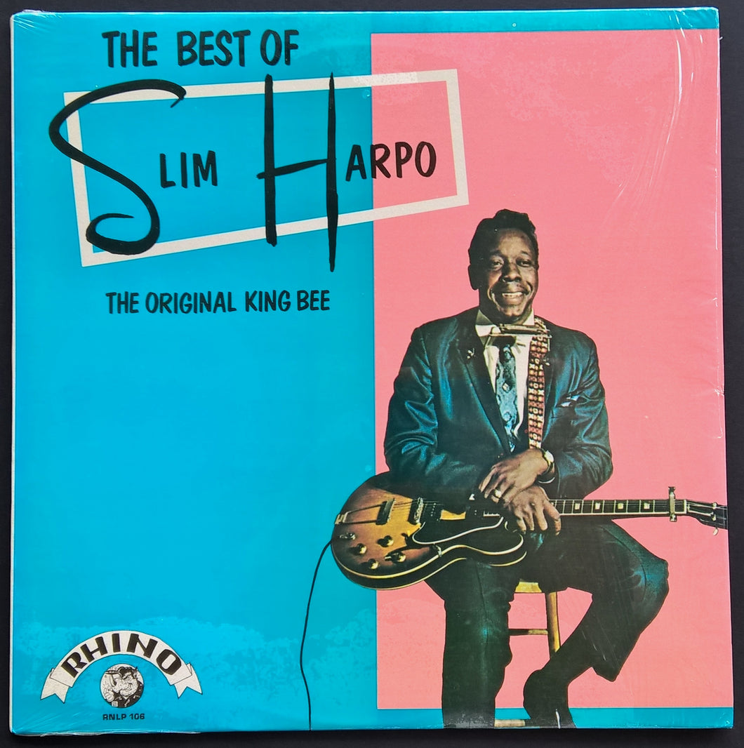 The Best Of Slim Harpo - The Original King Bee