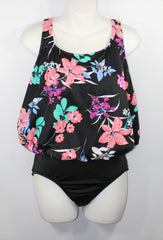 Mastectomy Swimsuit 'One Piece Blouson' Garden Lily