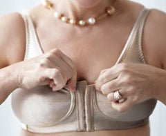 Mastectomy Bra 'Front Close Rose' Beige