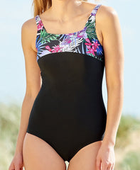 Mastectomy Swimsuit 'Maui Square Neck One Piece'