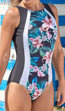 *SALE* Mastectomy Swimsuit 'Hawaii Ultimate High Neck One Piece'