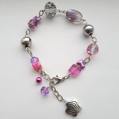*NEW*MLAM 'Survivor Powered' Flower Bracelet