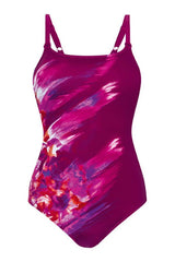 Mastectomy Swimsuit 'La Paz One Piece' Dark Berry
