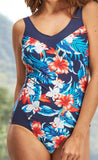 Mastectomy Swimsuit 'Kahului V-Neck One Piece'