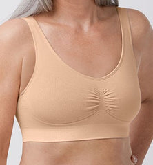 Mastectomy Bra 'Becky Seamless Pullover' Rose Nude
