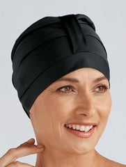 Swim Cap - Black by Amoena