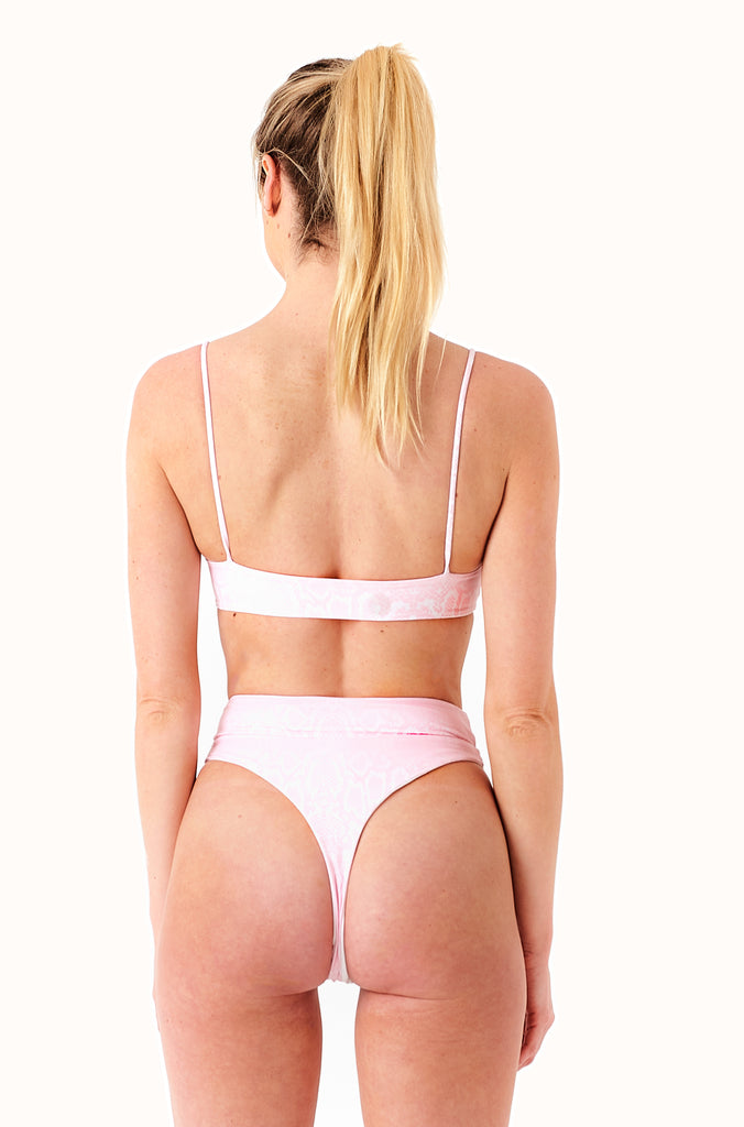 THE REVERSIBLE BOOGIE BOTTOMS / SERPENTINE QUARTZ & IVORY
