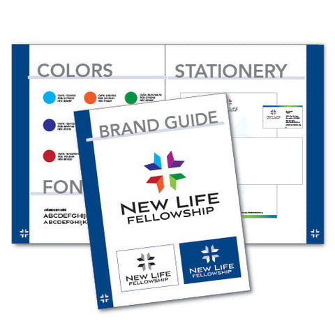 4 Page Brand Guide