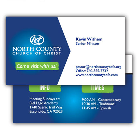 Business Card Design - Custom Design
