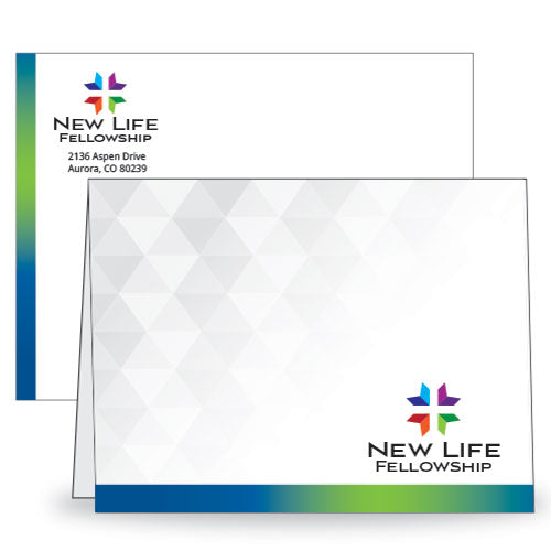 Custom Note Card and Envelopes
