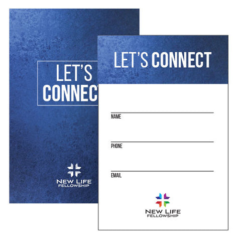 "4""x6"" Connection Card"