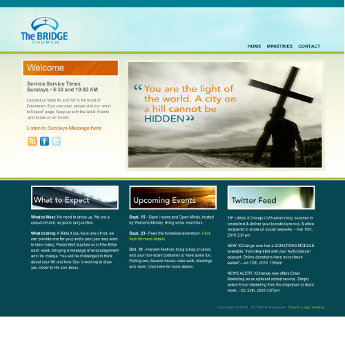 Sample Home Page