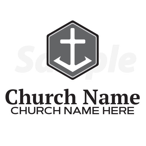 Church Logo: Grayscale(Included)