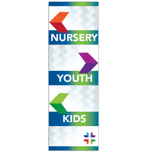 Custom Vertical Banner