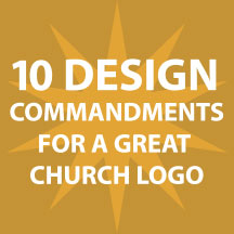 Ten Commandments for a Great Church Logo