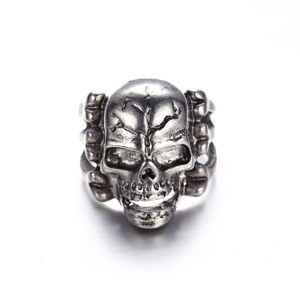 Gothic Men's Skull Ring (Perfect Gift)